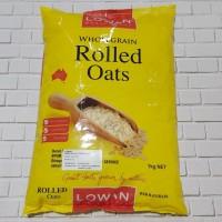 Lowan rolled oats / quaker / gandum