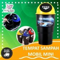 TEMPAT SAMPAH MOBIL MINI KARAKTER LUCU TMP261