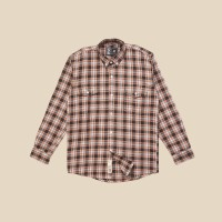 Kemeja Flanel Lengan Panjang Monochrome LS Linea Shirt