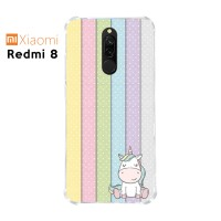 Casing Custom Xiaomi Redmi 8 Softcase Anticrack Motif Lucu Unicorn