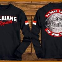 Kaos T-SHIRT Terbaru Baju Distro Kaos Lengan Panjang Pejuang Rupiah