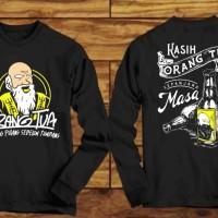 Kaos T-SHIRT Terbaru Baju Distro Kaos Lengan Panjang Orang Tua