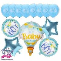WELCOME BABY BOY/GIRL SET/BALON FOIL BABY/BALON BABY SHOWER