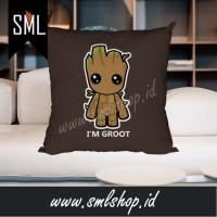 Bantal Dekorasi / Bantal Sofa / Bantal Kotak - I'm Groot 001 / Groot