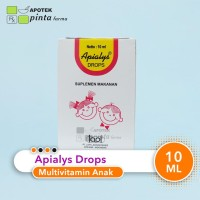 Multivitamin Bayi Apialys Drop 10 ml