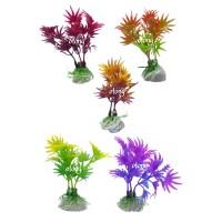 tanaman pohon hias hiasan plastik sintetis aksesoris aquascape YP 003
