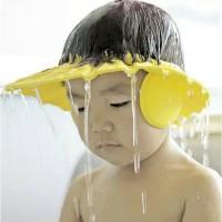 TOPI KERAMAS BAYI & ANAK MODEL KANCING / SHOWER CAP BABY AND KIDS