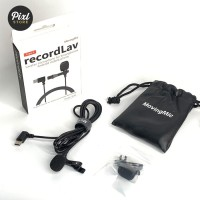 RecordLav MovingMic Clip-On Microphone Mic for Smartphone Type C 1.5m
