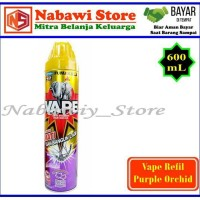 Nabawi Srore. Vape Obat Nyamuk Semprot / Spray Purple Orchid 600mL