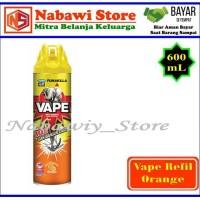 Nabawi Srore. Vape Obat Nyamuk Semprot / Spray Orange 600mL