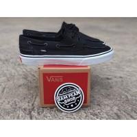 Sepatu Vans ZAPATO JAPATO black white orignal premium import