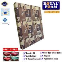 ROYAL KASUR BUSA ORIGINAL D16 No.1 size 200 x 180 x 20 cm - FREE SPREI