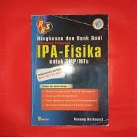 buku pelajaran ringkasan dan Bank soal IPA fisika smp