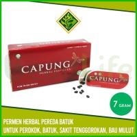 ✅CAPUNG Herbal Pastilles 7 gr - Permen Batuk Tenggorokan Bau Mulut