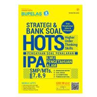 Buku BUPELAS Strategi dan Bank Soal HOTS IPA SMP/Mts Kelas 7,8,9