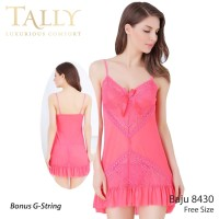 TALLY Bj 8430 Baju tidur Seksi lingerie Bahan Lace Brokat