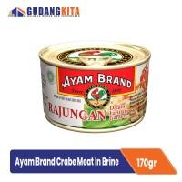 Kepiting Air Garam Ayam Brand Crab Meat In Brine 170g