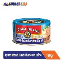 Ikan Tuna Dalam Air Garam Ayam Brand - Chunks In Brine 185g