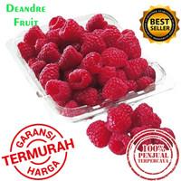 GROSIR MURAH 1kg Raspberry Import 10x100gr Frozen Buah Beku Raspberry