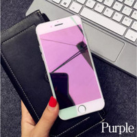 Tempered Glass Anti Gores Full Screen Cover Kaca iPhone 6 6S 7 8 Plus