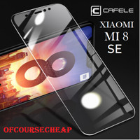 CAFELE XIAOMI MI 8 SE MI8 SE TEMPERED GLASS CLEAR HD