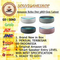 PROMO MURAH Amazon Echo Dot 3rd Gen Alexa Voice Control Smart Speaker
