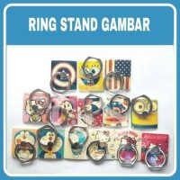 RING STAND HP/RING HOLDER KARAKTER/GAMBAR