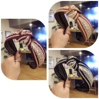 Bando Korea Fashion Wanita Bandana Headband Knitted Bohemian KNIT