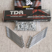 JARI JARI / RUJI TDR Aero Blade Series Chrome Motor