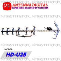 Anten Antena Antenna TV Digital Luar Outdoor PF HDU HD U 25 U25 HDU25