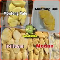 Paket Lengkap Durian Kupas Lokal