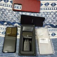 Samsung Galaxy S20 Ultra Snapdragon 5g 12gb 128gb Black Banyak Bonus