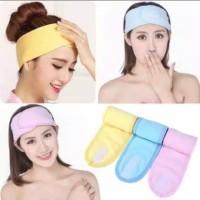 Bando Bandana Untuk Facial/ Bando mandi Ukuran Besar