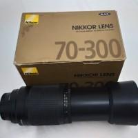 LENSA TELE NIKON 70-300mm (AF Zoom-Nikkor 70-300mm f/4-5.6G)