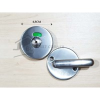 Grendel Indikator untuk Toilet Partisi / Kunci Pintu Toilet Partisi