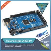 Arduino OEM Original Mega 2560 R3 + USB Cable
