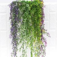 Daun Juntai Daun Rambat Bunga Daun Bunga Plastik Bunga Hias Artificial