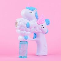 Tseloop Mainan Anak Bubble Gun Karakter Mainan Tembakan Balon Sabun