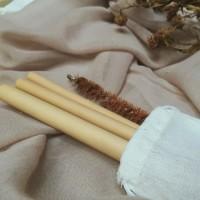 Bamboo Straw Sedotan Bambu Ramah Lingkungan