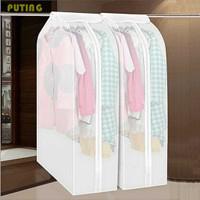 Kantong Cover Baju Anti Debu Pakaian Dustproof Organizer 60x30x110cm - Transparan
