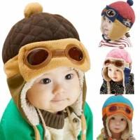 Topi Pilot Bayi Topi Pilot Anak dan Bayi Korea Pilot Hat