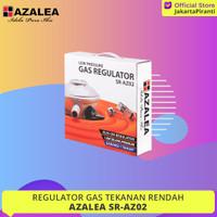 Regulator Gas Kompor Oven Water Heater Azalea SR-AZ02 Low Pressure