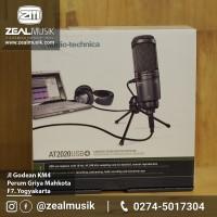 AUDIO TECHNICA AT2020 USB l Microphone Condenser USB l Zealmusik Jogja