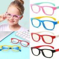 Kacamata Anti Radiasi Anak Blue Ray / Kacamata Plastik