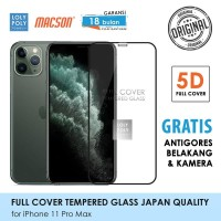 Lolypoly Tempered Glass 5D Iphone 11 / 11 Pro / 11 Promax - iPhone 11 Pro