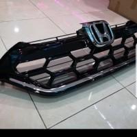 Grill depan honda CRV turbo model modulo bahan palstik ABS impor