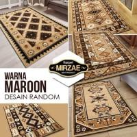 [CSG.ID] Karpet Warna BROWN 100x150 (Pilih Merek, Design Random) - SUPER SHAMA, COKLAT
