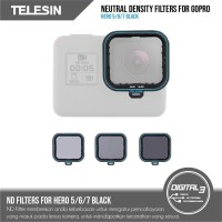Neutral Density Filter ND4 ND8 ND16 Filters Set GoPro Hero 7 6 5 Black