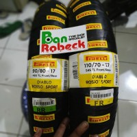 Paket Ban Pirelli diablo Rosso Sport 90/80-17&110/70-17