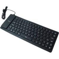 Keyboard Mini Flexible USB tanpa Numeric Pad